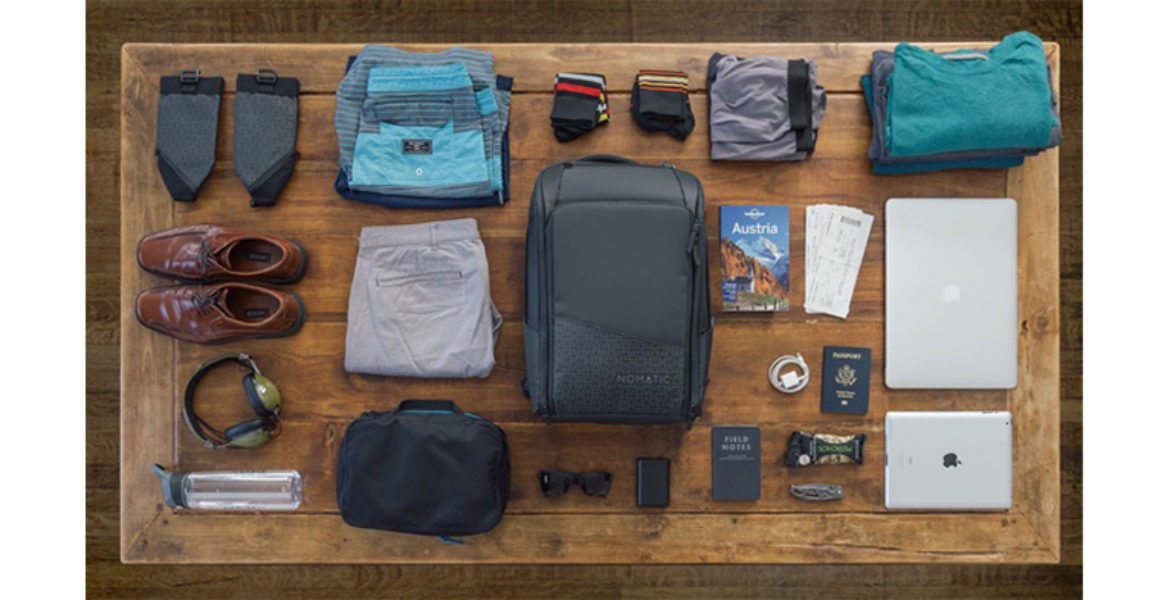 3. Are You Into Gadgets and Gear? The Nomatic Travel Bag