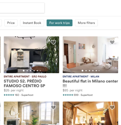 Bleisure's Best Finds: Airbnb for Work