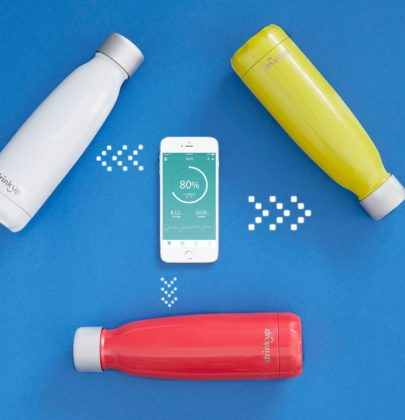 Bleisure's Best Finds: DrinKup Smart Water Bottle
