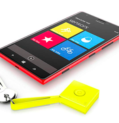 Bleisure's Best Finds: Nokia Treasure Tag